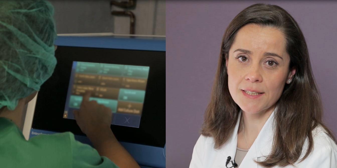 Para las pacientes es tranquilizador poder ver cómo ha sido el cultivo de sus embriones