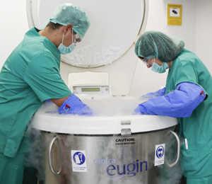 Máxima seguridad en la conservación de óvulos, embriones y semen