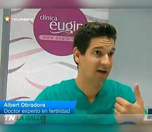 Eugin explica en Telemadrid la técnica de los 3 padres genéticos