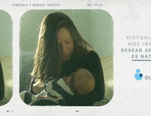 La campaña publicitaria 'Es natural' de Eugin sobre historias reales de maternidad recibe una gran acogida del público con medio millón de visualizaciones